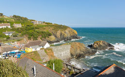 Cadgwith Cornwall England UK the Lizard Peninsula between The Lizard and Coverack Stock Images