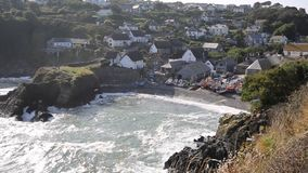 Cadgwith Cornwall England UK on the Lizard Peninsula Royalty Free Stock Image