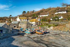 Cadgwith in Cornwall Royalty Free Stock Photos