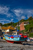 Cadgwith Cove, Cornwall. Located on the Lizard, a lovely fishing village Stock Photos