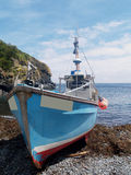 Cadgwith fishing boat Royalty Free Stock Photos