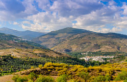 Cadiar and Berchules Villages Royalty Free Stock Photo