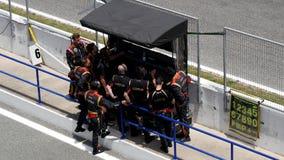 CADICE - 28 MAGGIO: Formula V8 3 di campionato di baseball 5 a Jerez de la Front archivi video