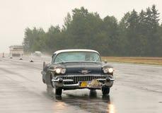 Cadilac De Ville Coupe - test de vitesse Photo libre de droits