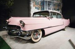 Cadilac rosado de Elvis Presley Fotografía de archivo