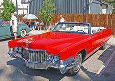Cadillac μετατρέψιμο Στοκ Φωτογραφίες