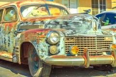 Cadillac στη διαδρομή 66 στοκ φωτογραφία
