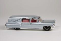 Cadillac 1963 Hearse. 1963 Cadillac Hearse, Matchbox 2008 #55, M5342 Stock Photography
