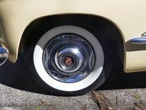 Cadillac, Amerykański samochód 1940s, Modeluje 62 Coupe joga matę, 1947 Rarytas Hamburg, Niemcy zdjęcia royalty free