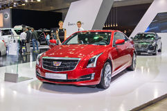 Cadillac ATS coupe Stock Photography