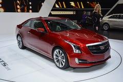 Cadillac ATS Coupe przy Lemańskim Motorowym przedstawieniem zdjęcie stock