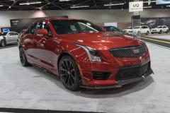 Cadillac ATS na pokazie zdjęcia stock