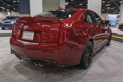 Cadillac ATS na pokazie zdjęcie royalty free