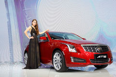Cadillac ATS Royalty Free Stock Photo