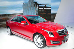Cadillac ATS saloon car Royalty Free Stock Photos