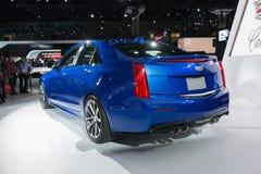 Cadillac ATS sedanu samochód na pokazie obraz stock