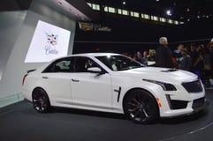 Cadillac at Auto Show Stock Photos