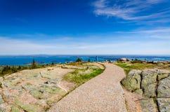 Cadillac-Berg - Acadia-Nationalpark - Maine Lizenzfreie Stockbilder