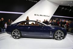 Cadillac-Conceptenauto Royalty-vrije Stock Afbeelding