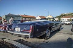 1976 Cadillac-Convertibel Eldorado Achtennegentig Stock Foto's