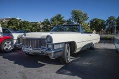 1965 Cadillac 2 Convertibele Deur Stock Fotografie