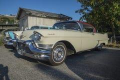 1957 Cadillac-Coupé deVille Royalty-vrije Stock Afbeeldingen