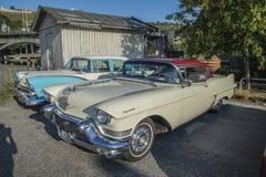 1957 Cadillac-Coupé deVille Royalty-vrije Stock Fotografie