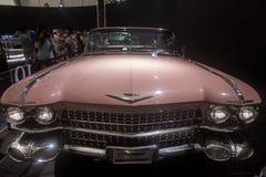 1959 Cadillac-Coupé Dv Ville, klassieke limousine Stock Fotografie