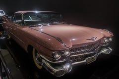 1959 Cadillac-Coupé Dv Ville, klassieke limousine stock afbeelding