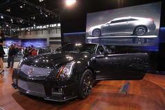 cadillac coupe cts nowy v Fotografia Royalty Free