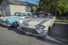 1957 Cadillac Coupe deVille Στοκ φωτογραφία με δικαίωμα ελεύθερης χρήσης
