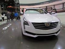 Cadillac CT6 2015 Internationale toont Auto van New York Royalty-vrije Stock Afbeelding