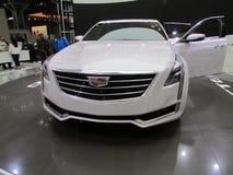 Cadillac CT6 2015 Internationale toont Auto van New York Stock Afbeelding