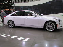 Cadillac CT6 2015 Nowy Jork Międzynarodowy Auto przedstawienie Obrazy Stock