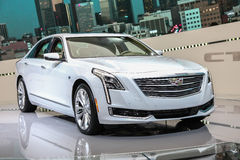 Cadillac CT-6  shown at the New York International Auto Show 201. NEW YORK- APRIL 12: Cadillac CT-6  shown at the New York International Auto Show 2017, at the Royalty Free Stock Photography