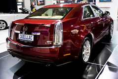 Cadillac CTS - AchterLinkerzijde Derde - MPU Stock Afbeelding