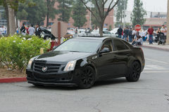 Cadillac CTS car on display Stock Image