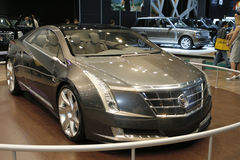 Cadillac CTS Coupe Concept. At the Moscow International Automobile Salon (MIAS-2010) August 25 - September 5 Royalty Free Stock Photography