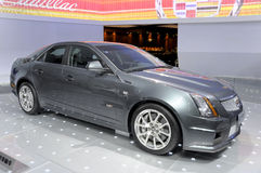 Cadillac CTS-V. Shanghai Cadillac CSV sedan in its exhibition hall,in 2010 international Auto-show GuangZhou. it is from 20/12/2010 to 27/12/2010. photo taken on Stock Photos