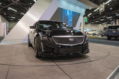 Cadillac CTS-V  on display. Royalty Free Stock Photography