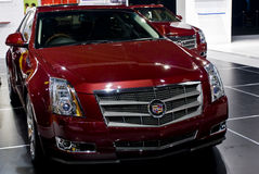 Cadillac CTS - Vue de face Image libre de droits