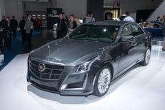 Cadillac CTS - wereldpremière Stock Foto's