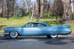Cadillac 1959 De Ville Coupe Arkivbild