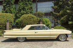 Cadillac De Ville coupe oldtimer car Stock Image