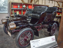 1906 Cadillac 2 deur het Reizen Stock Foto
