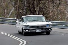 Cadillac DeVille cabriolet 1959 royaltyfri bild