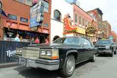 Cadillac 1978 Deville, Nashville, Tennessee, EUA foto de stock royalty free