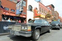Cadillac 1978 Deville, Nashville, Tennessee, U.S.A. fotografia stock libera da diritti