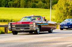Cadillac deville 1967 Royalty Free Stock Image