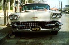 Cadillac 1958 Direktstöt de Ville Royaltyfri Bild
